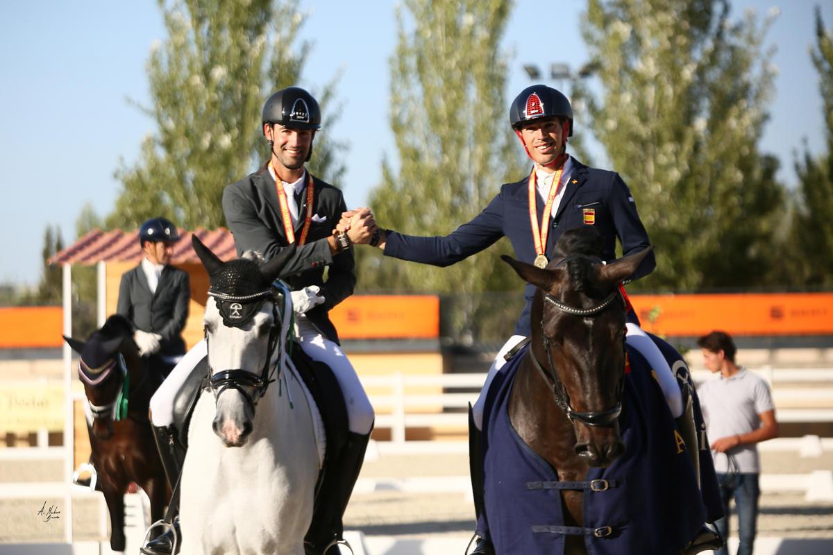 Alejandro Sanchez del Barco y Guillermo Garcia Ayala- Campeonato España Caballos Jovenes 2019 - 1Y6A6550redes